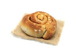 Cinnamon roll. Scandinavian kanelbulle